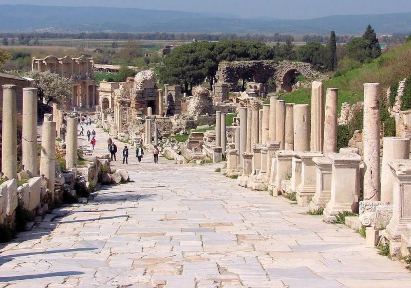 Kusadasi shore excursion half day ephesus tour travel packages turkey - Ephesus turkey cruise port ...